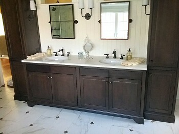 Custom Bathroom Design Cabinets Delaware Valley Bucks Montgomery County PA.