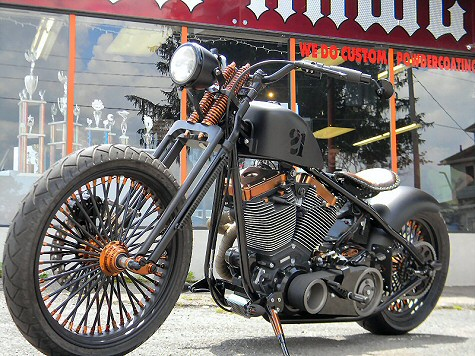 Iron Hawg Custom Cycles Motorcycle Builders, Bobbers, Baggers, Choppers, Sales, Service, Repair, Harleys, Pennsylvania