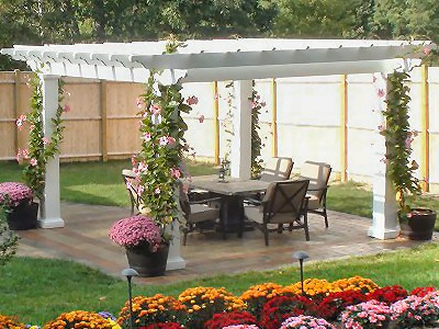 Pergolas, Privacy Screens, Arbors, Trellises At PDC Spa World