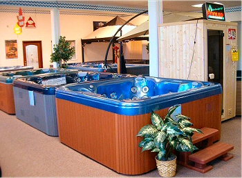 PDC Spa And Pool World located in Eastern Pa. offers a great selection of Spas, Hot Tubs, Jacuzzis, Saunas including Steam Saunas,  Infrared Saunas on display at their showroom and on their website.